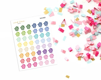 House - stickers for your planner