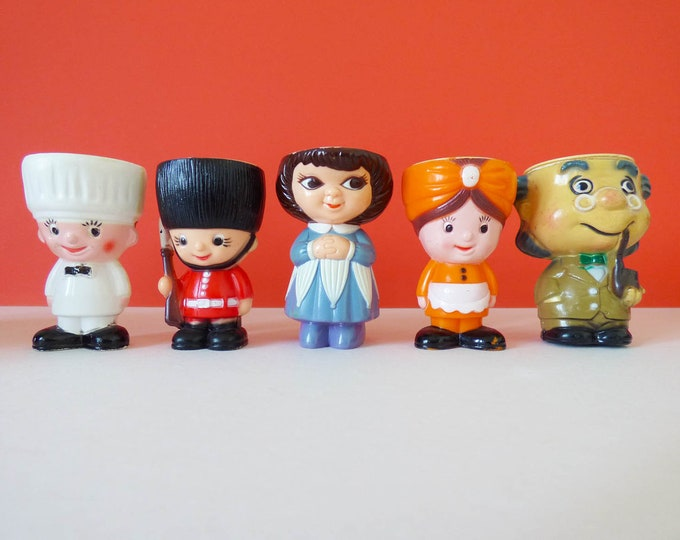 Vintage Character Egg Cups