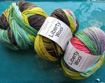 Classic Elite Liberty Wool Worsted Weight Yarn Destash Lot of 3