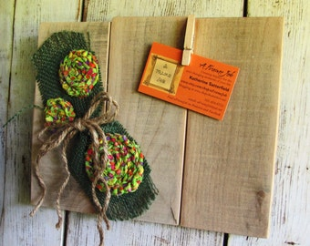 A 4 x 6 Picture Swapping,  Handmade Rustic Photo Frame, Country floral embellished (051415)