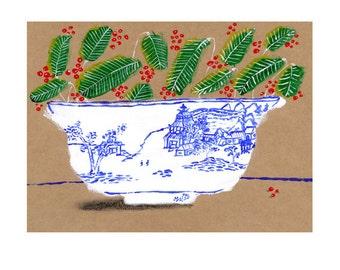Chinese bowl print 1