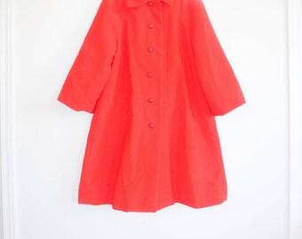 Vintage Red Girl's Jacket
