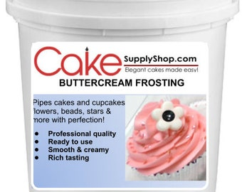 Mint Chocolate Chip  Buttercream Frosting 6lb Bucket