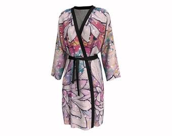 Flower Puddles • Peignoir Robe