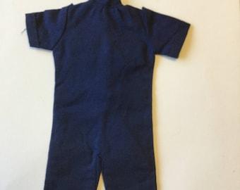 Vintage Sindy 1983 navy short suit