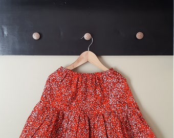Baby Lady Red Sprinkle Skirt