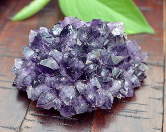 Grape Amethyst Stalactite Pine Cluster