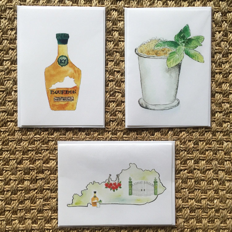 Cards Birthday Card Kentucky Mint Julep Bourbon Jockeys