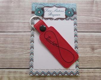 Teacher Keychain, Teacher Key Fob, Teacher Gift, School Keychain, Teacher Appreciation