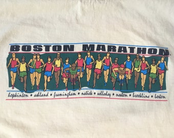 Vintage Boston Marathon T-Shirt
