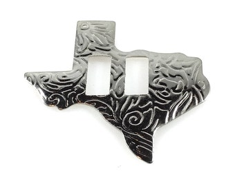 CONCHOS 1 1/2 inch STATE Of TEXAS Nickel Finish 25 pcs