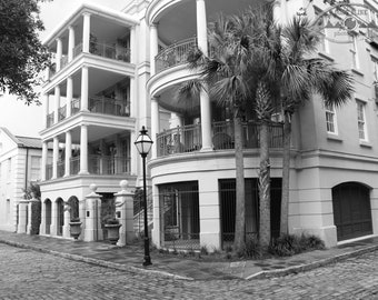 Black and White Charleston