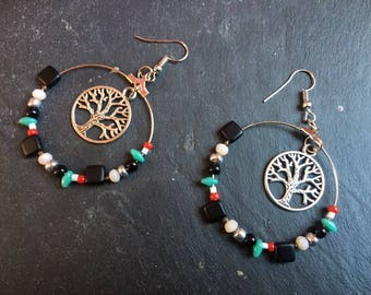 """Earrings """"Earth Day"""""""