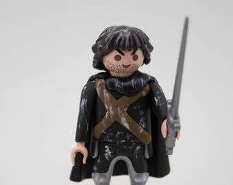 Jon Snow Playmobil customized  Game of thrones figura figure
