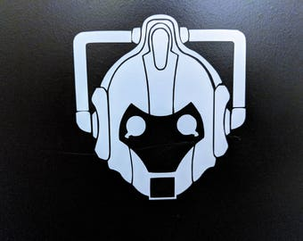 Doctor Who Cyberman Decal