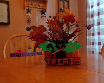 Halloween Treats Planter/Candy Holder