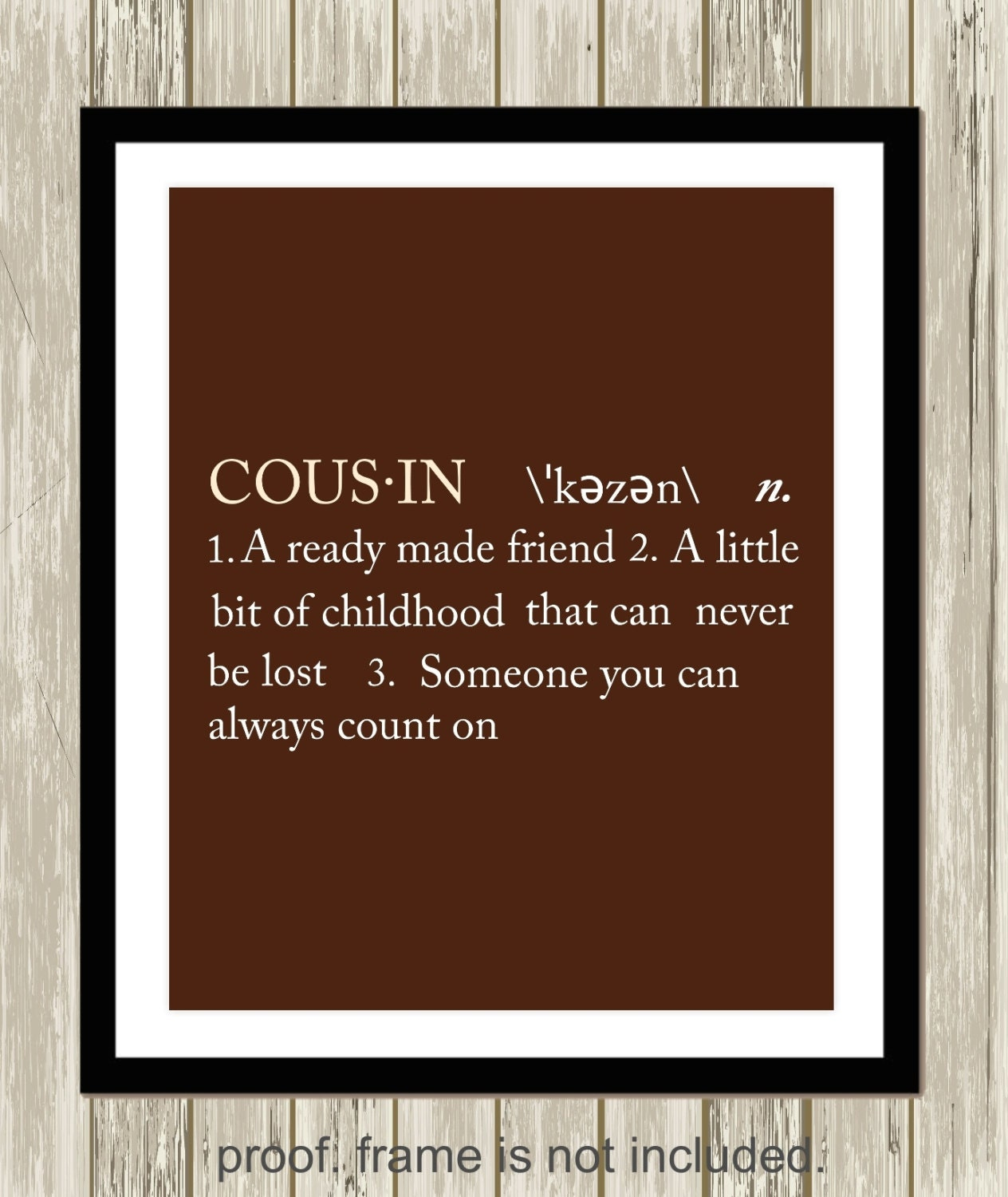 Cousin definition sister definition brother definition gift zoom jeuxipadfo Choice Image