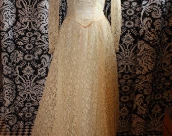 1940's Wedding Gown  Item #188-WG