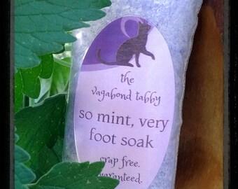 so mint, very foot soak