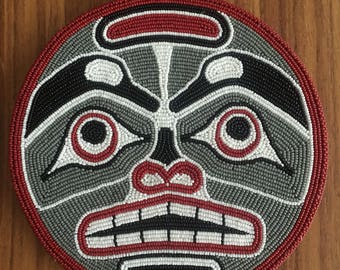 Northwest Tribal Salish Moon Man