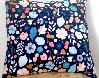 Fall flowers pillow cover
