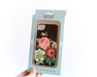 iPhone 4S Case, Floral Vintage Bouquet - Ready to Ship