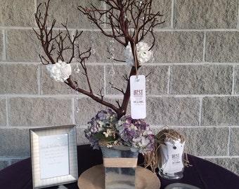 Manzanita Wedding Wish Tree/ Guestbook Tree
