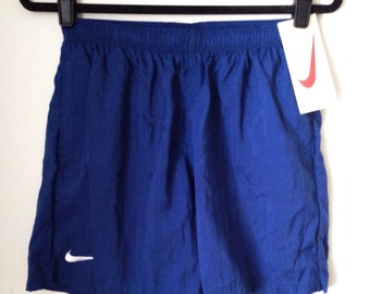 Deadstock Nike Blue Athletic Shorts Boys Size Extra Large
