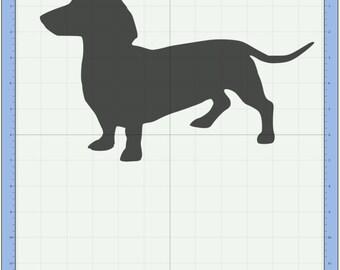 Dachshund SVG cutting file /  Weiner dog