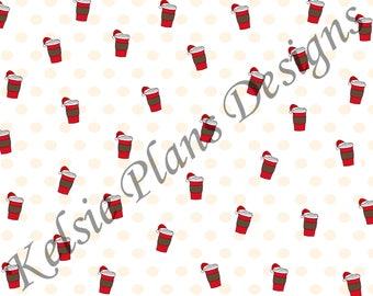 Christmas Coffee Paper