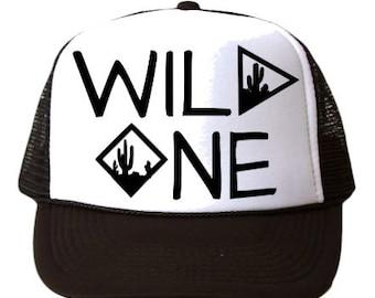 Wild One Trucker Hat, Wild One Hat