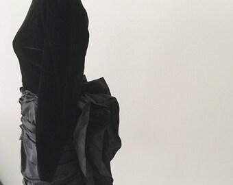 Impresionante vestido vintage de Givenchy
