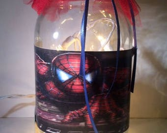 Kids Spider Man Night Light