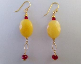 Rainier Cherry Earrings