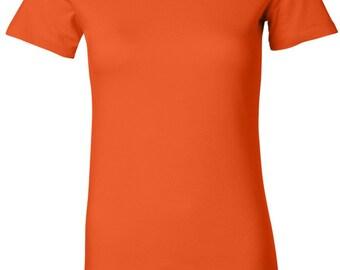 Ladies Pow Mia Patch Bottom Print Longer Length Tee T-Shirt PMP-BO-6004
