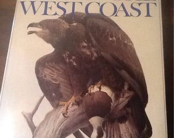 1976 Lansdown Birds of the West Coast, drawings, paintings text, full color plates, Pacific Coast, 52 plates, 52 illustrations, frameable
