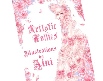 Artistic Follies - Illustrations by Aini Art Booklet