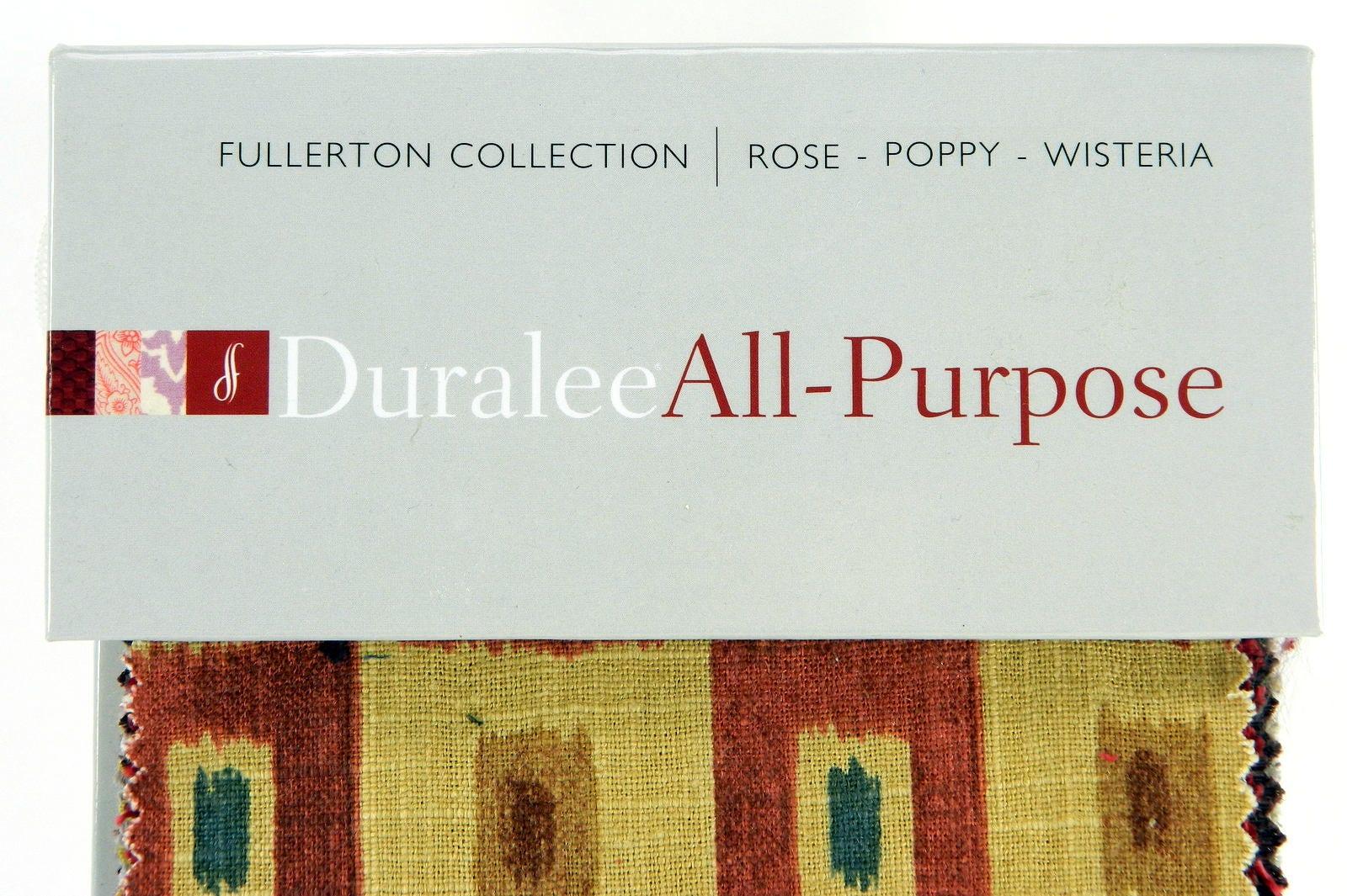 Duralee Stoff Musterbuch, Rose, Mohn, Glyzinien, Fullerton Sammlung ...