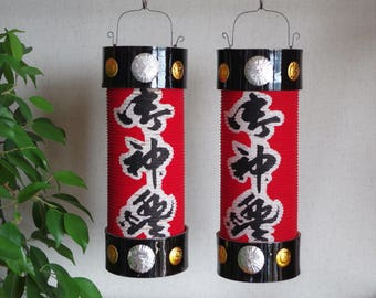 Chouchin・large(御神灯提灯)     Japanese Shrine Paper lantern  pair
