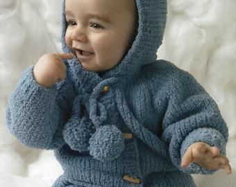 jacket dk knitting pattern 99p