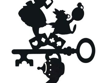 Alice in Wonderland Inspired Decal