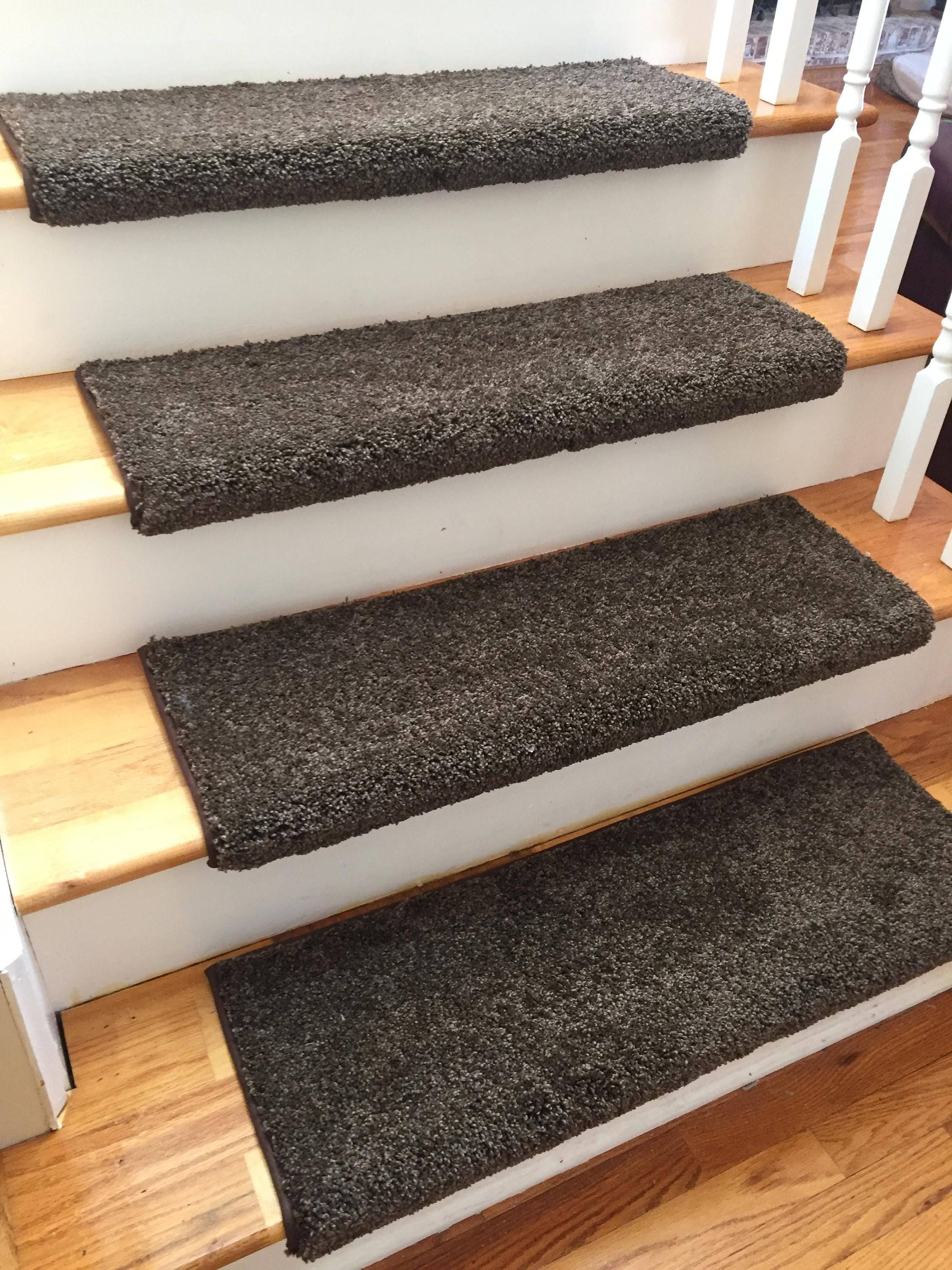 Ridgeview Coco Bean True Bullnose™ Carpet Stair Tread   For Safety Comfort  Dog Cat Pet (Sold Each)