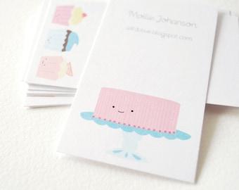 Printable Calling Cards - Sweet Treats