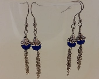 Vintage blue Sapphire