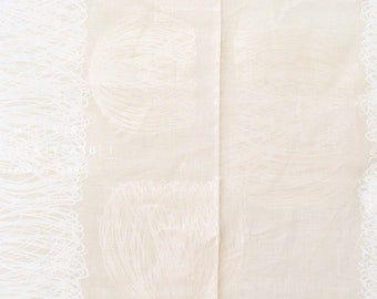 Nani Iro Kokka Japanese Fabric Chorus linen - polyphony - 50cm