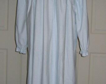 Custom Ladies Flannel Nightgown