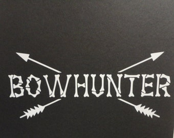 Bow hunting decal