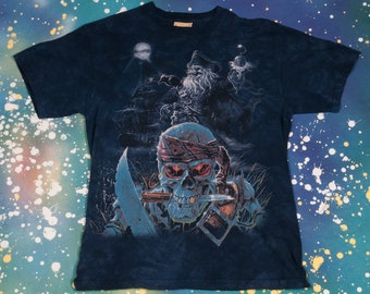 PIRATE SKULL Shirt Size M
