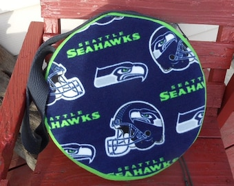 Hoop drum 15 in. carrying case drum bag 15 inch drum carrying case hand drum case Sea Hawks 12th man