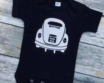 LittleDub! Baby onepiece bodysuit. Baby Announcement / Dad to be/ Fathers Day gift .